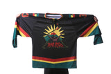 team rasta rootfire hockey jersey - black
