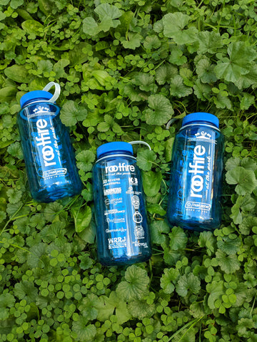 rootfire at the park nalgene water bottles