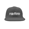Wordmark Snapback Hat (Grey)