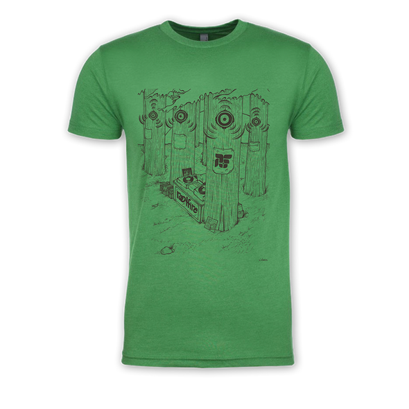 DJ In The Woods T-Shirt (Green)