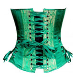Emerald Over Bust Corset Top