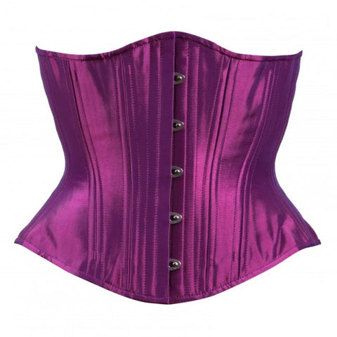 Purple Iridescent Hourglass Corset