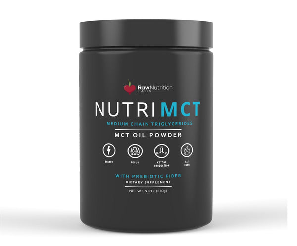 NutriMCT Medium Chain Triglycerides - Raw Nutrition Labs