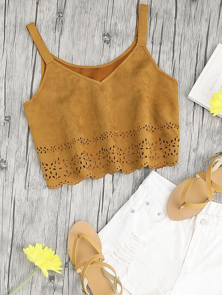 WALK WITH ME CROP TOP