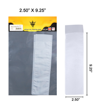 "Rosin Filtration Bag +Flap - 2.50"" x 9.25"""