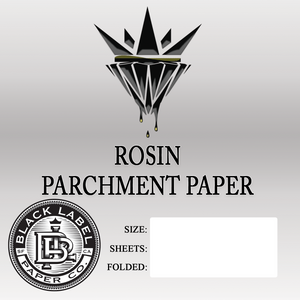 "4.5"" x 5"" Folded - Black Label Paper Co. - Access Rosin"