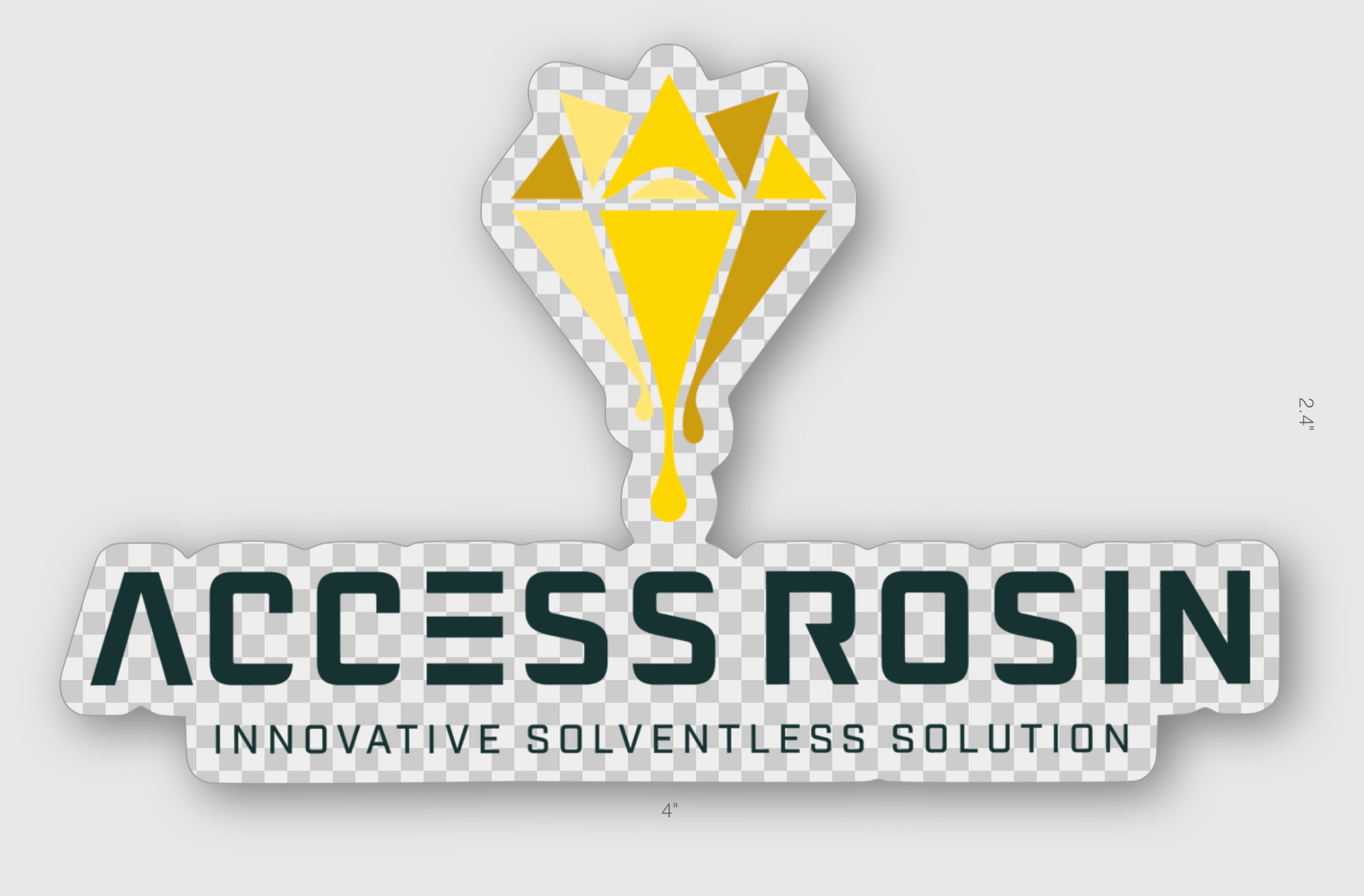 Access Rosin Brand - Sticker - Access Rosin