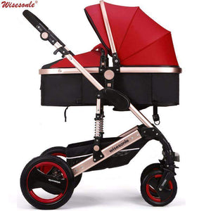 Beautiful luxury Baby Stroller, folding baby Carriage Sitting or lying-Stroller-BestForKids