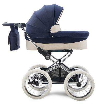 60's Style Look, European Royal Stroller, Reversible High View