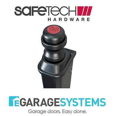 Safetech Magnetic Top Pull Latch Black Pool Gate Latch - SL-50-TRI