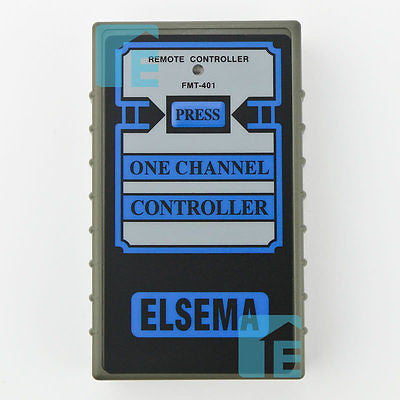Elsema FMT401 27.145MHz Garage Door Remote