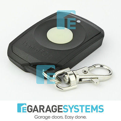Elsema Pentafob Small Button Black Remote FOB43301B