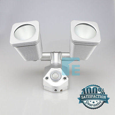 Chamberlain Sensor Light Silver Halogen Head With 140° Sensor