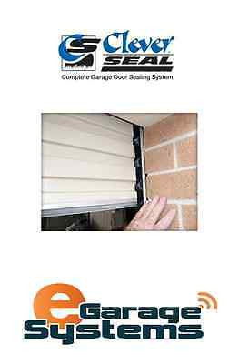 Cleverseal Garage Sectional Panel Door Pest Storm Dust 2500 x 3000w 19mm Brush