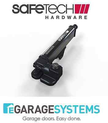 Safetech Magnetic Pedestrian Gate Latch Black Rust Proof, UV Stabilized - SL-25
