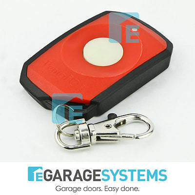 Elsema PentaFob Small Button Red Remote FOB43301R
