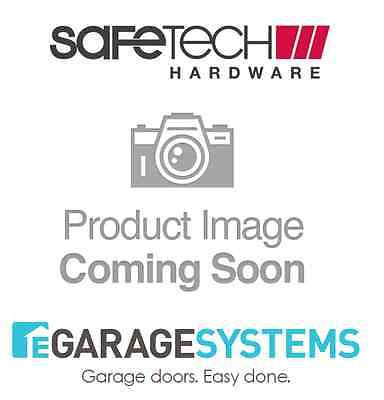 Safetech Magnetic Top Pull Latch Keyed & Fixed Tension Hinge Black SL-50H-F90L