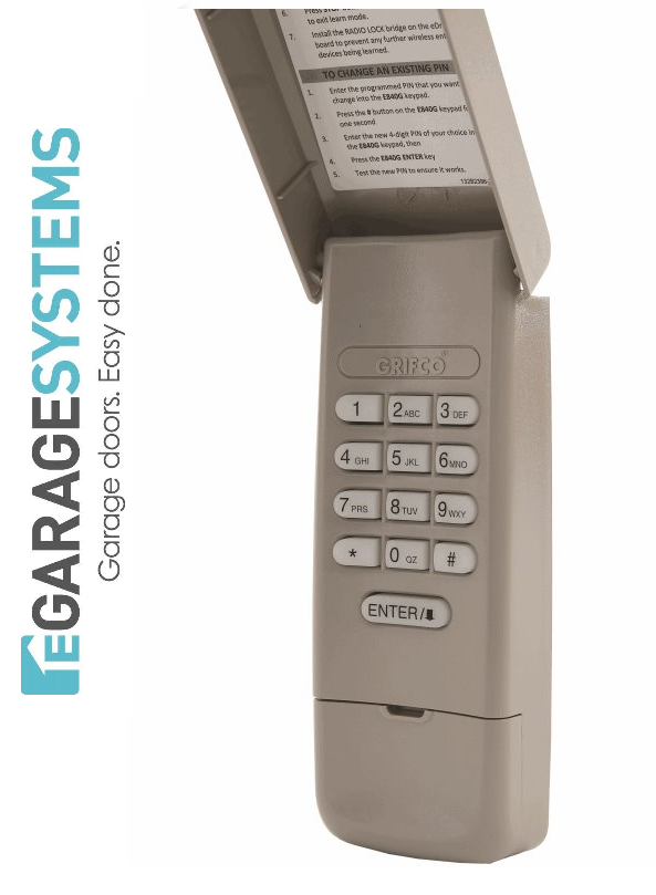 Grifco eDrive Security +2.0 Wireless Keypad