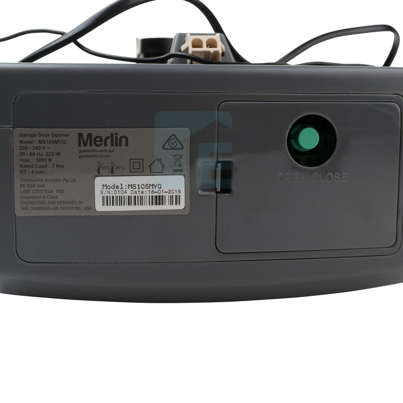 Merlin Commander Elite MS105MYQ & 1 Piece Belt C-Rail