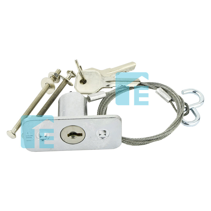 External Emergency Key Release Roller Sectional Tilt Garage Door