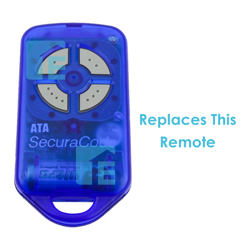 ATA PTX4 Compatible Transmitter - Modern Clear