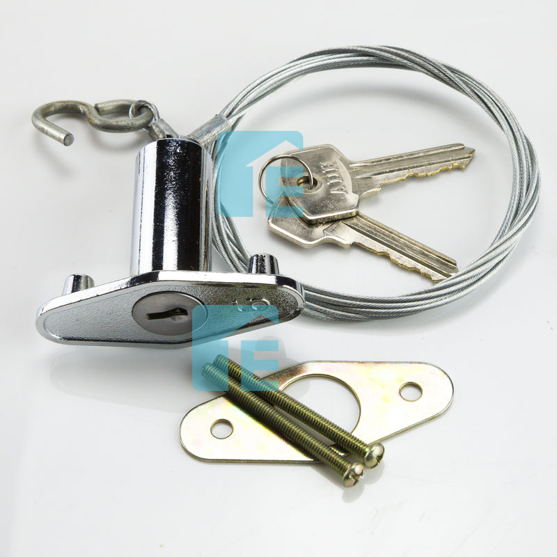 Guardian External Emergency Key Release Sectional Garage Door