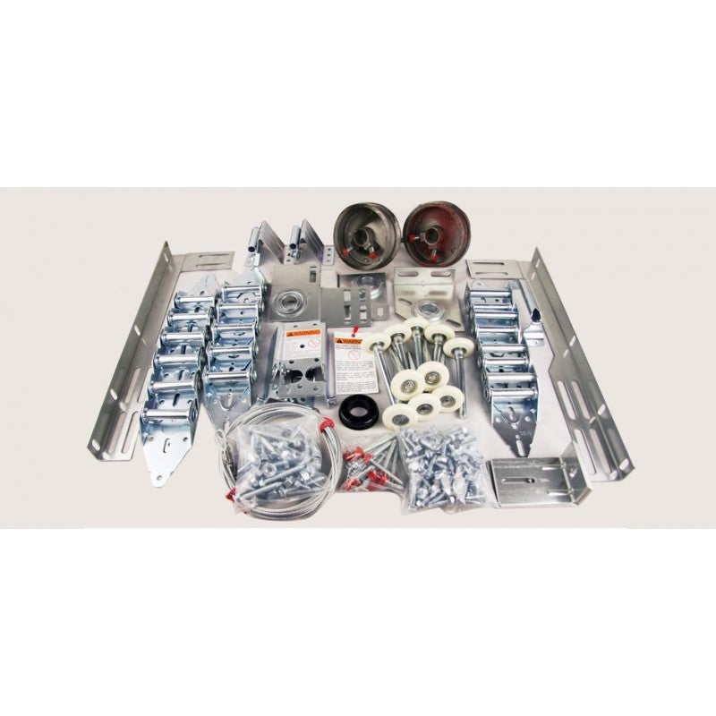 Universal Standard Sectional Door Hardware Kit - 14GA