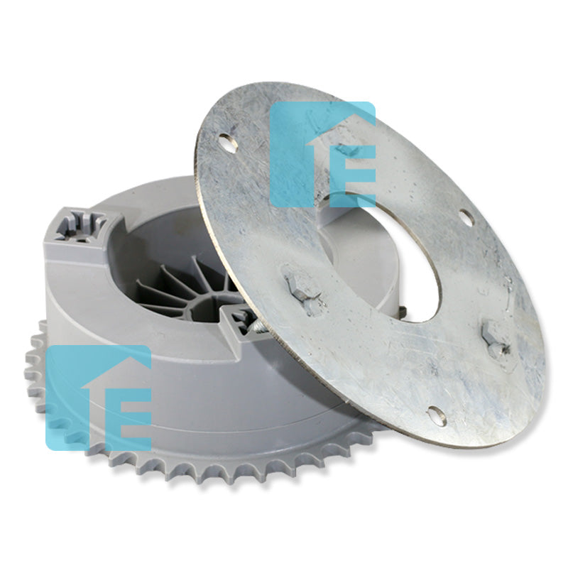 ATA / B&D Grey 43 Tooth Sprocket with Reinforcing Steel Disc