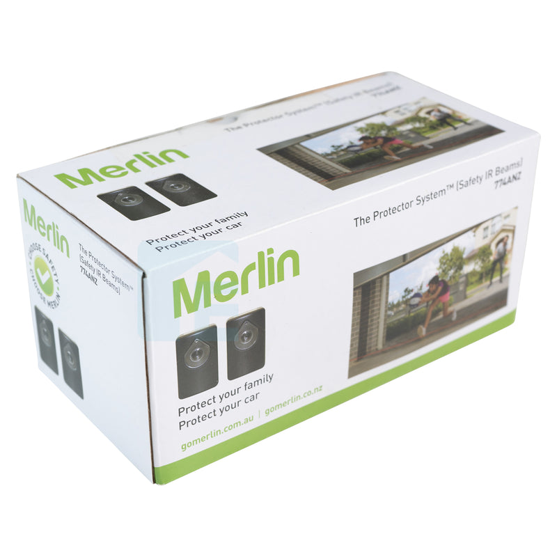 Merlin Sectional Door Opener With Belt Rail MS105MYQ & Smart Phone Kit Gateway