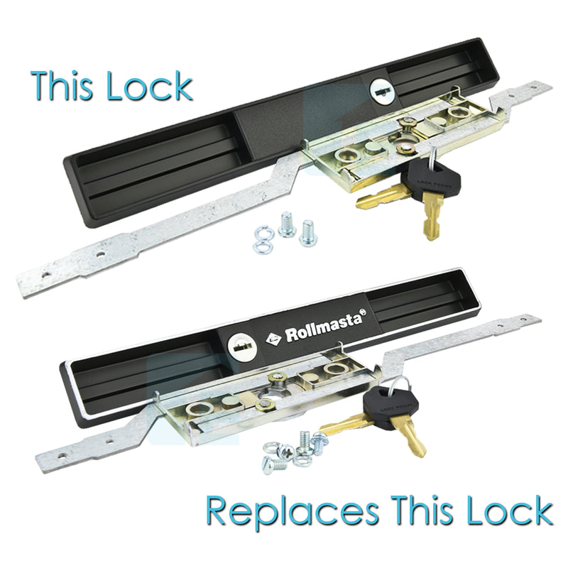 Copy B&D Rollmasta Garage Door Lock