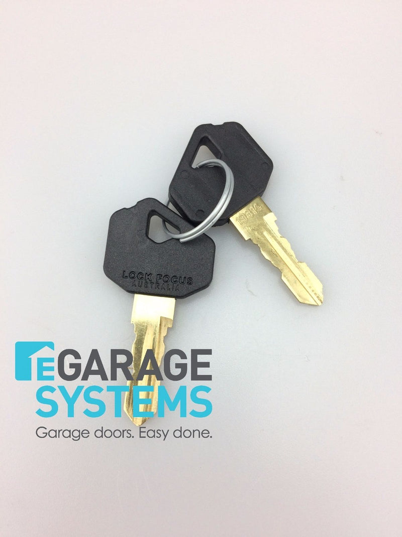 Deluxe Lock Barrel & 2 Keys Suits B&D Deluxe Garage Door Lock