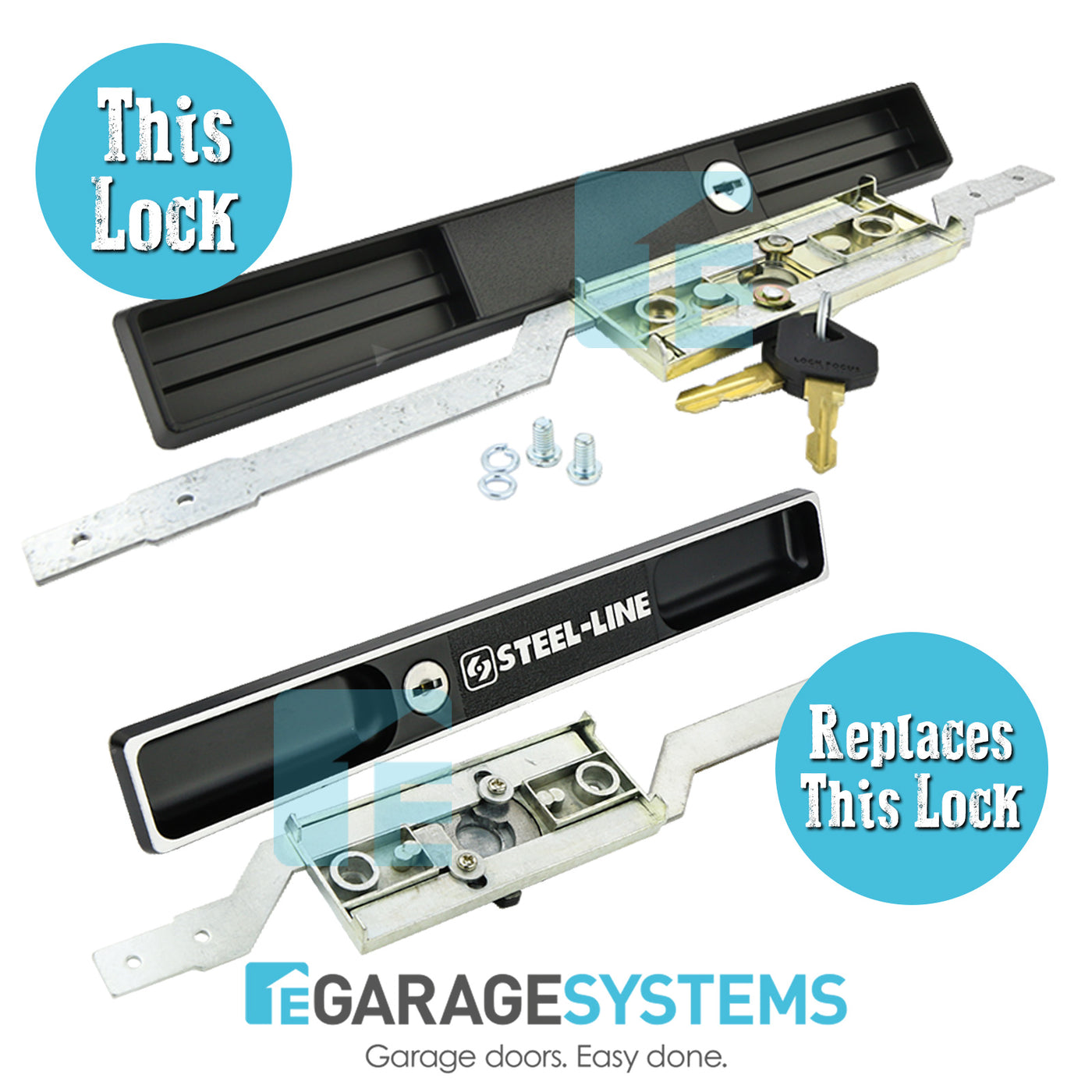 Copy Steel Line Garage Door Lock Egarage Systems