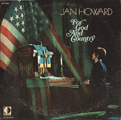 Jan Howard : For God And Country (LP, Album, Promo)