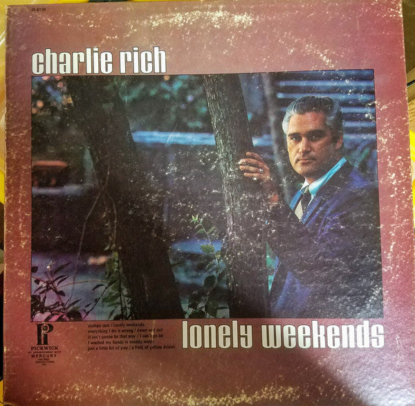 Charlie Rich : Lonely Weekends (LP, Comp)