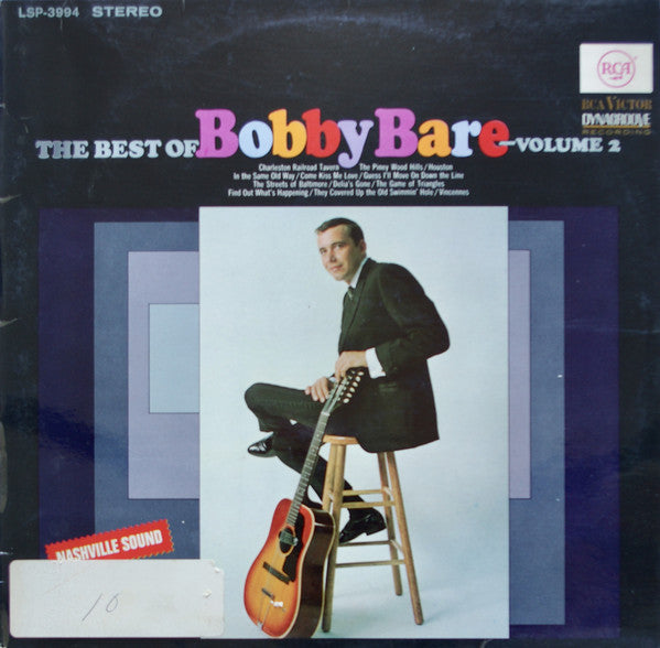 Bobby Bare : The Best Of Bobby Bare Volume 2 (LP, Comp)