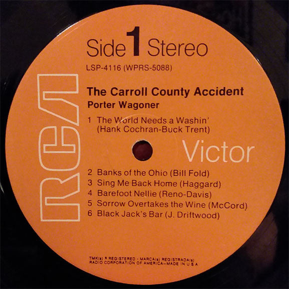 Porter Wagoner : The Carroll County Accident (LP, Ind)