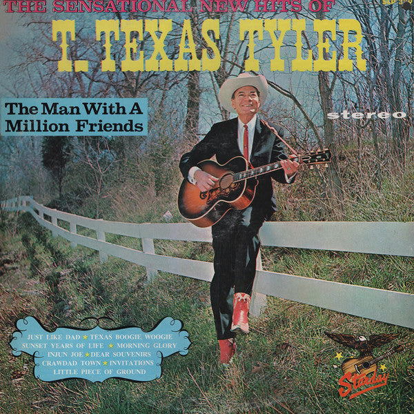 T. Texas Tyler : The Man With A Million Friends (LP)