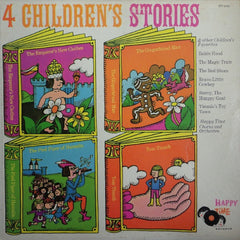 Happy Time Chorus & Orchestra : 4 Children's Stories And Other Favorites (LP)
