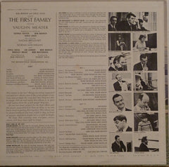 Bob Booker And Earle Doud Featuring Vaughn Meader With Earle Doud - Naomi Brossart - Bob Booker - Norma Macmillan : The First Family (LP, Album, Mono)