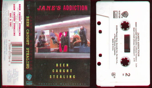 Jane's Addiction : Been Caught Stealing (Cass, Maxi, No )