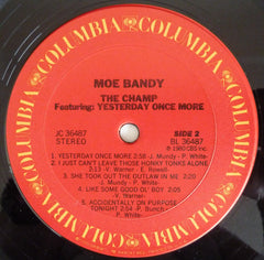Moe Bandy : The Champ (LP, Album)
