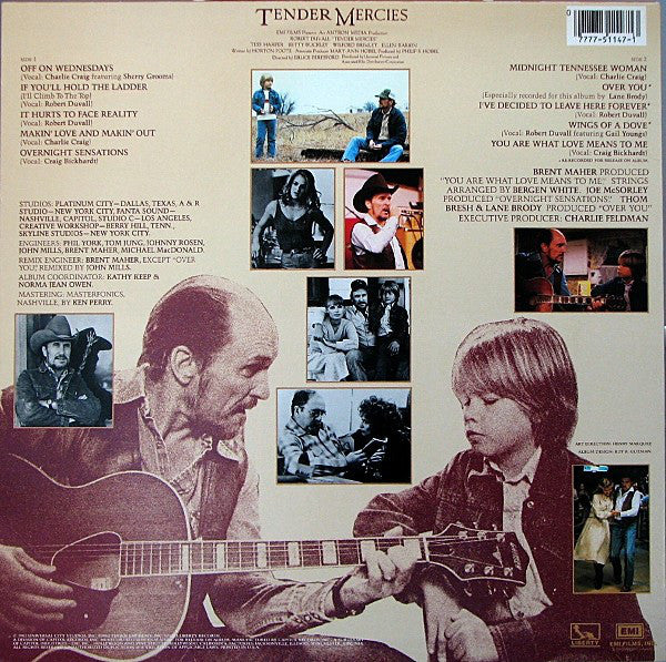 Various : Tender Mercies - Music From The Motion Picture (LP)