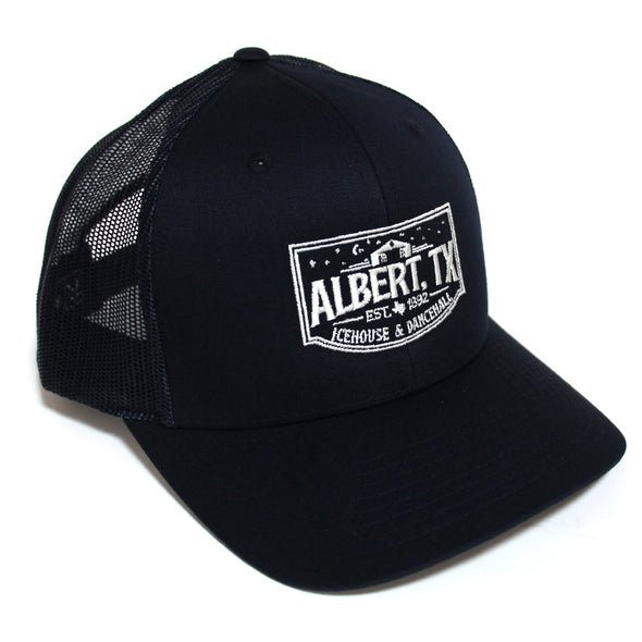 Albert Icehouse Trucker Hat, Navy