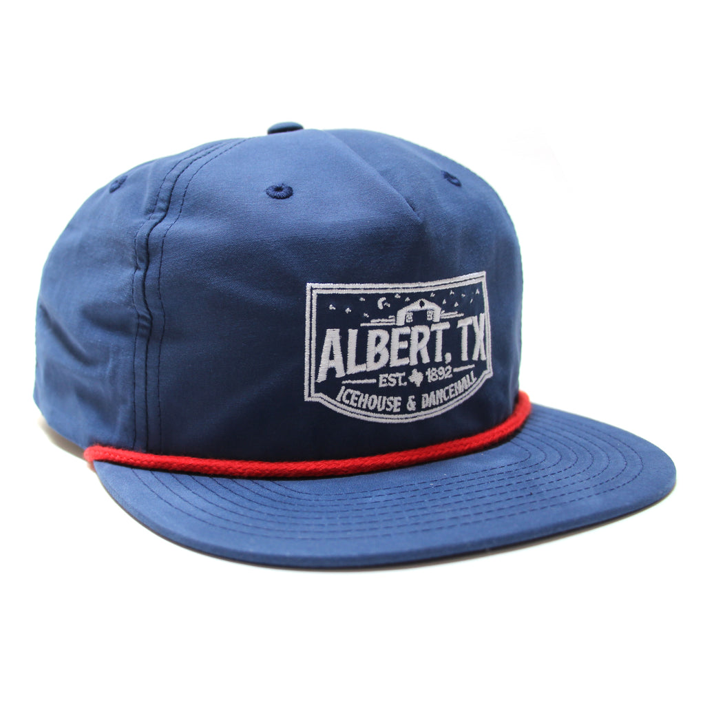 Albert Icehouse Rope Hat, Blue