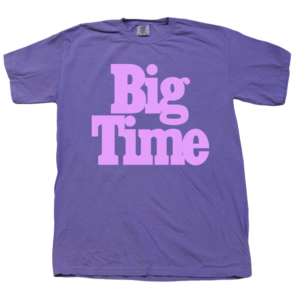 Big Time Logo Tee - Icy Grape