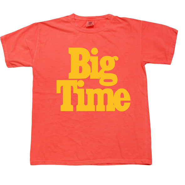 Big Time Logo Tee - Tangerine Dream