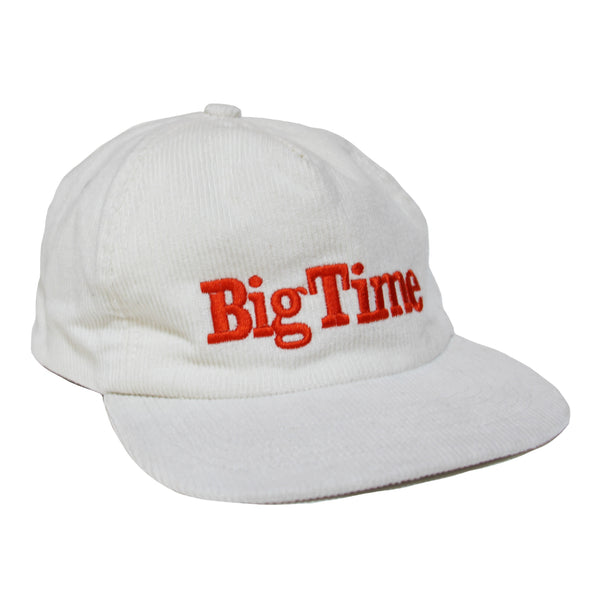 Big Time Corduroy Hat - White