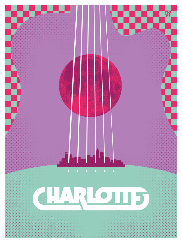 Bring Music Home - Charlotte Poster (PRESALE)