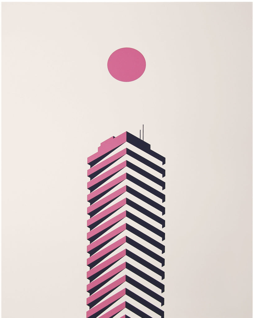 Chris Munroe Building Poster