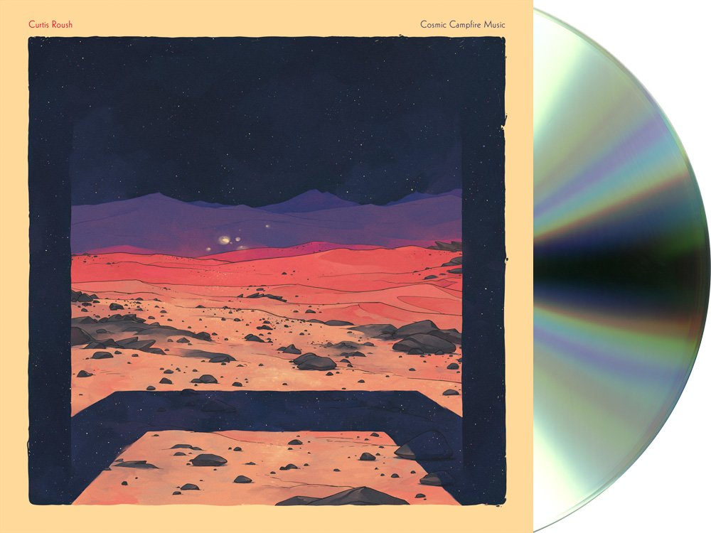 Curtis Roush - Cosmic Campfire Music CD